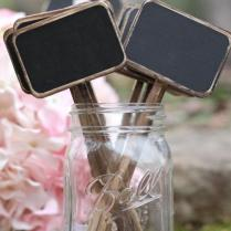 Chalkboard Table Numbers Rustic Chalkboard Signs Distressed