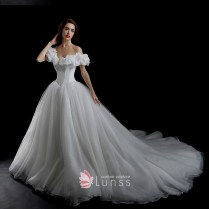 Cinderella Inspired 3d Floral Off