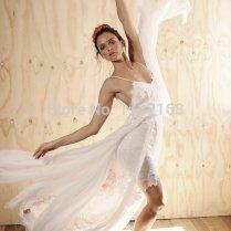 Com Buy Inexpensive White Ivory Summer Chiffon Beach Wedding