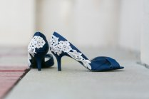 Cool Navy Blue Wedding Shoes For Heels Bridal 9