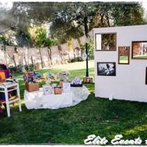 Country Vintage Wedding Photobooth Corner Props