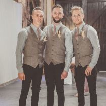 Country Wedding Men's Attire