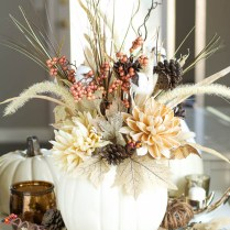 Creative Of White Pumpkin Centerpieces For A Wedding 65 Awesome