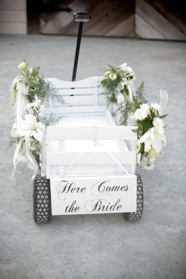 Decorating Wagon For Baby In Wedding 6722