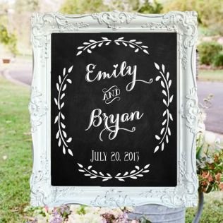 Decorative Chalkboards For Weddings 10058