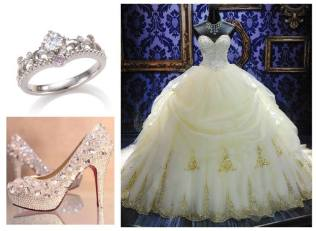 Disney Princess Themed Wedding Dresses The Dreamy Disney