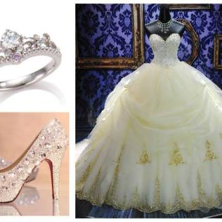 Disney Princess Themed Wedding Dresses The Dreamy Disney