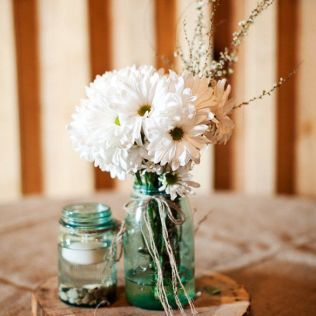 Download Rustic Country Wedding Centerpiece Ideas