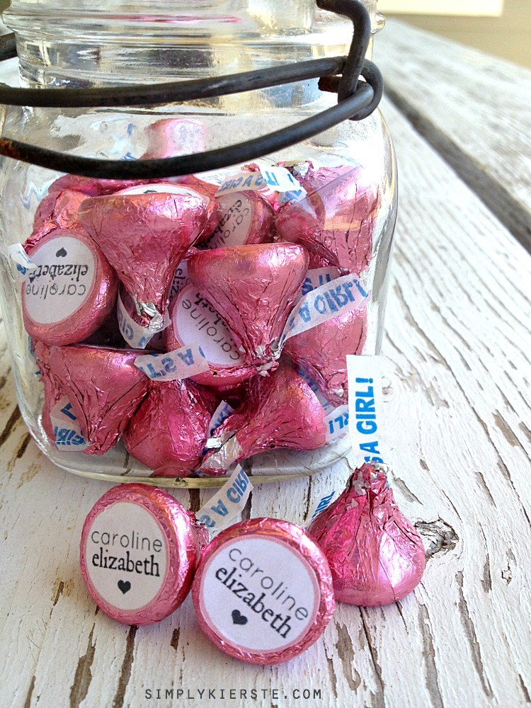 Wedding Favors With Hershey Kisses Ideas