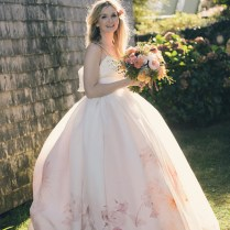 Emejing Floral Print Wedding Dresses Contemporary