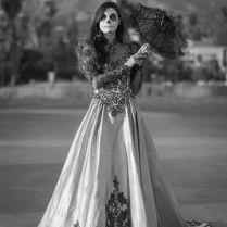 Emejing Sugar Skull Wedding Dress Gallery