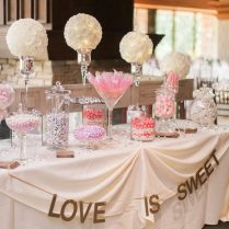 Excellent Candy Table Decorations For Weddings 43 For Wedding