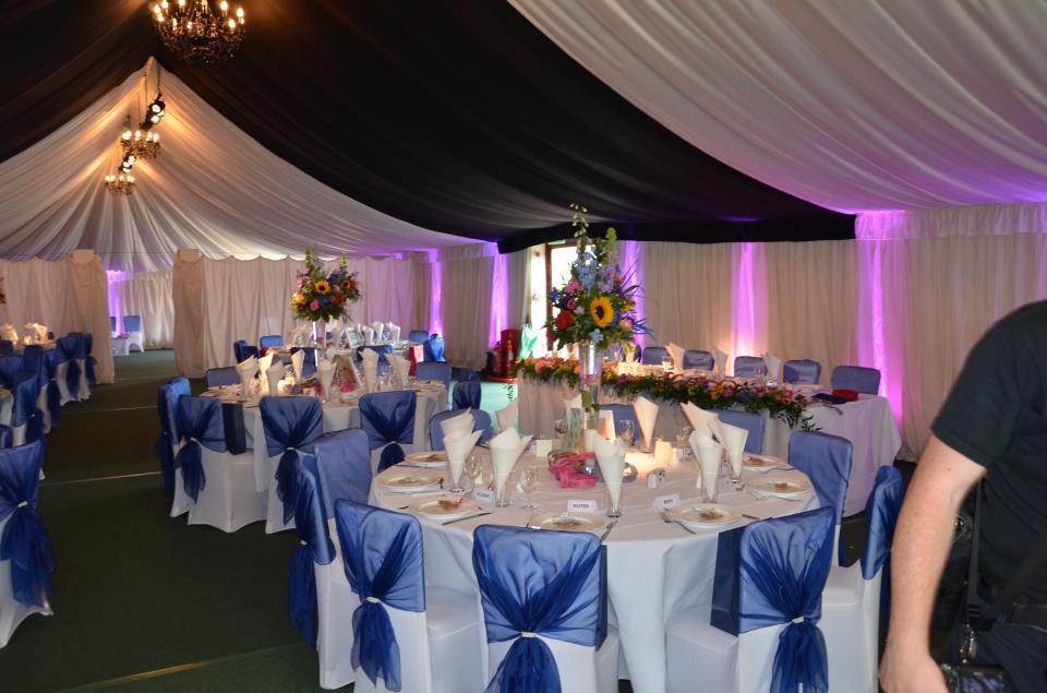 Midnight Blue Wedding Decorations