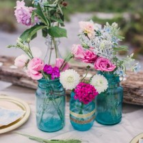 Exciting Turquoise And Fuchsia Wedding Decorations 41 About