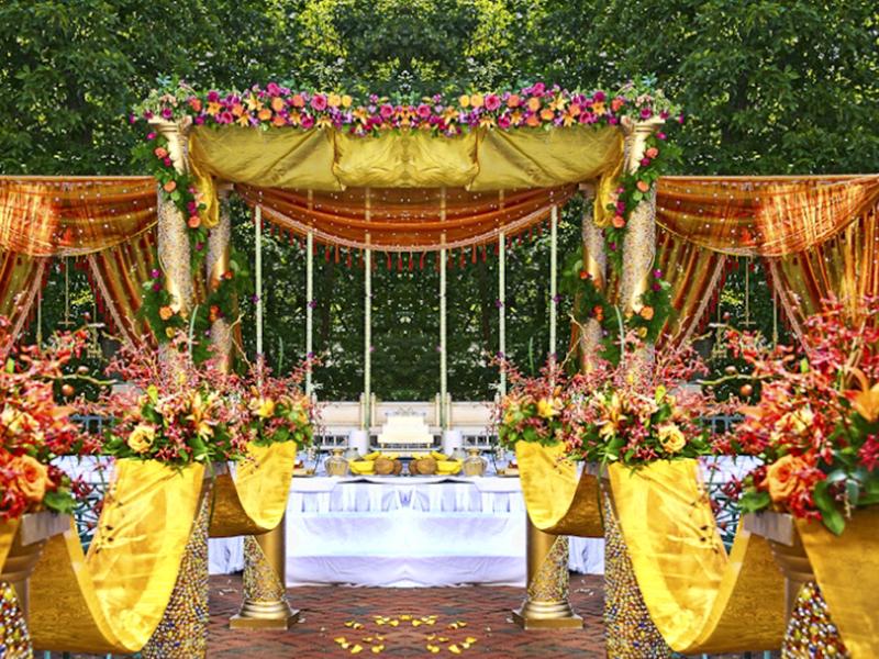 Floral Decoration For Indian Wedding