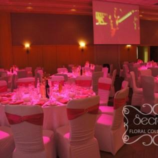 Fuchsia Wedding Table Decorations 723