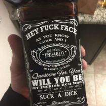 Funny Wedding Gift Ideas Groomsman Gift For Asking Them To Stand