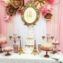 Glamorous Paris Wedding Theme Decorations 12 For Table Decorations