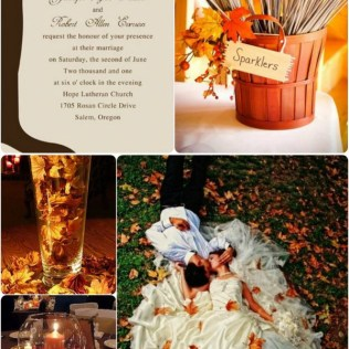 Gorgeous Ideas For Fall Wedding Perfect Fall Wedding Invitations