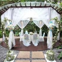 Gorgeous Patio Wedding Decoration Ideas Outdoor Wedding Decorating