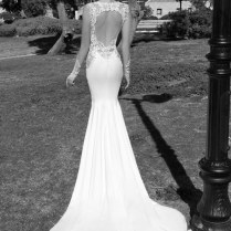 Great Flowy Open Back Wedding Dress 33 In Wedding Dresses With