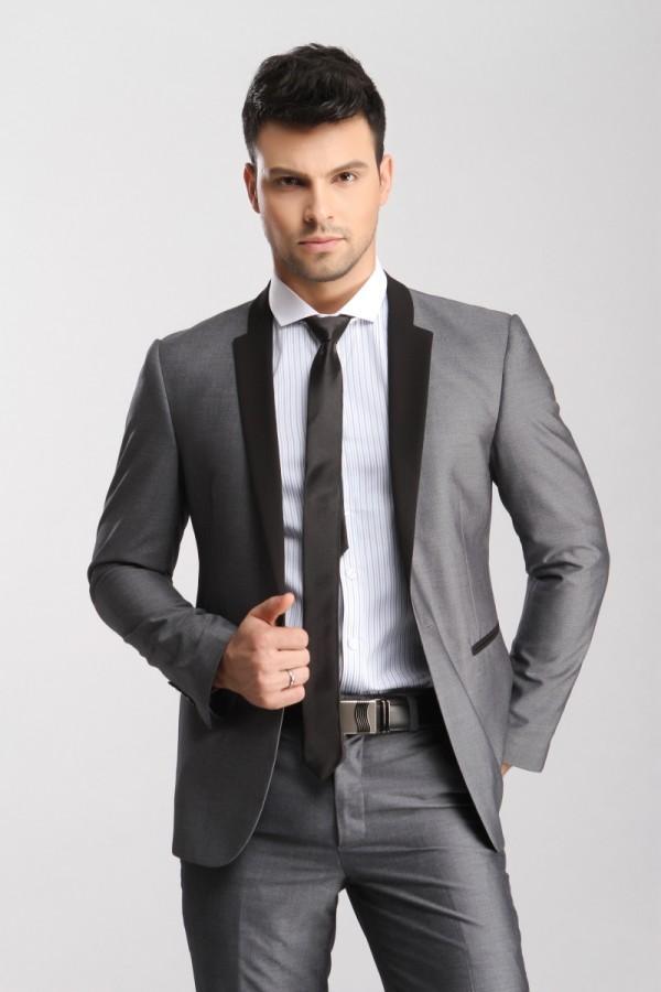Mens Grey Wedding Suits