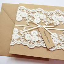 Handmade Wedding Invitations Handmade Wedding Invitations 21