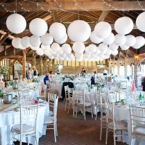 Hanging Lanterns For Weddings The Concept Of Romantic Lanterns