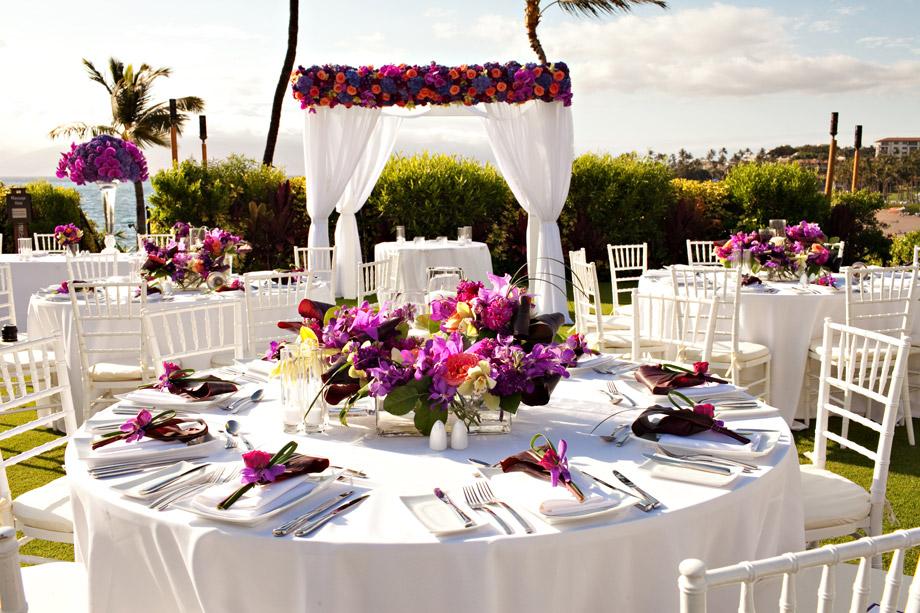 Hawaiian Wedding Theme