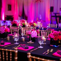 Hot Pink & Black Wedding Ideas Black And Hot Pink Wedding Ideas