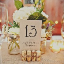 How To Make Table Numbers For Wedding 5743 Wedding Table Number