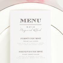 Ideas For Wedding Menus Wedding Menu Design Ideas Wedding Thank