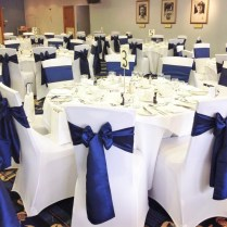 Impressive Wedding Chair Covers Leeds Ambience Venue Styling
