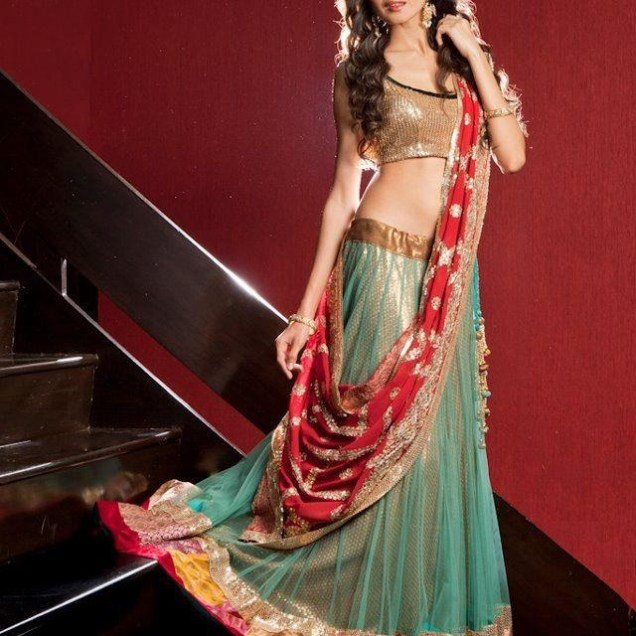 Indian Bridal Fashion – Reception Dresses
