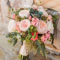 Innovative Country Wedding Flower Arrangements Rustic Wedding