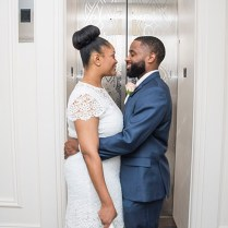 Intimate Wedding At The Dekalb County Courthouse Onteria