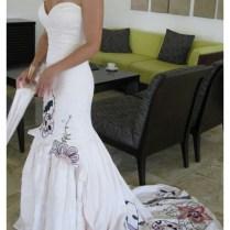 Jazmin's Muy Caliente, Wedding Dress, Inspired By A Pop Surrealism