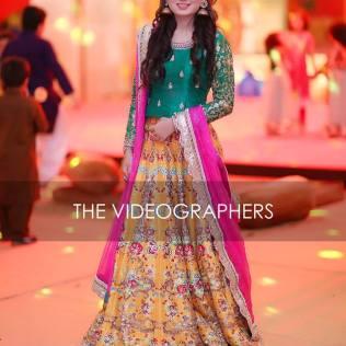 Latest Pakistani Designer Bridal Wedding Dresses 2018