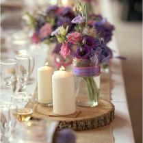 Lavender And Burlap Wedding – Bazaraurorita Com