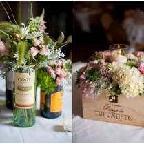 Lovable Wine Themed Wedding Centerpieces Wedding Wine Themed
