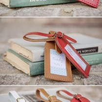 Luggage Tag Wedding Favors From Love Travels Favors