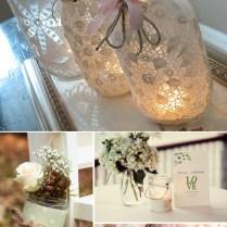 Mason Jar Decorating Ideas For Weddings