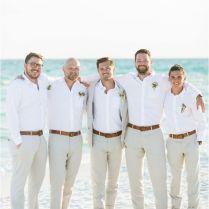 Men's Attire For Beach Wedding