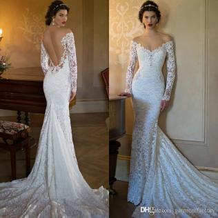 Mermaid Lace Wedding Dresses Sexy Mermaid Lace Wedding Dress Off