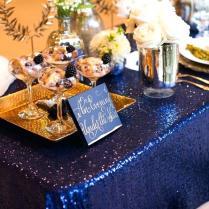 Midnight Blue Wedding Decorations Elegant Sparkly Barn Ideas In