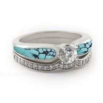 Native American Wedding Rings Best 25 Turquoise Wedding Rings
