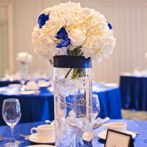 Nice Blue And Silver Wedding Centerpieces 1000 Images About Royal