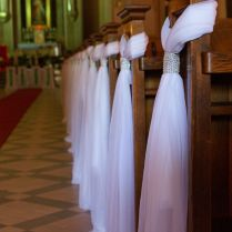 Nice Pew Decorations For Weddings 5
