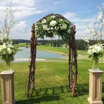 Outside Wedding Altar Ideas