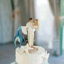 Perfect Mermaid Wedding Cake Topper!
